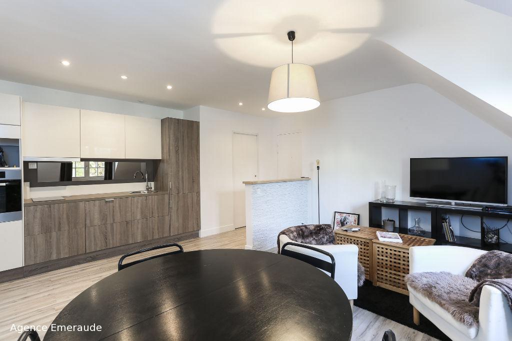 Appartement Dinard 3 pièce(s) 51.27 m² petit immeuble sans charges