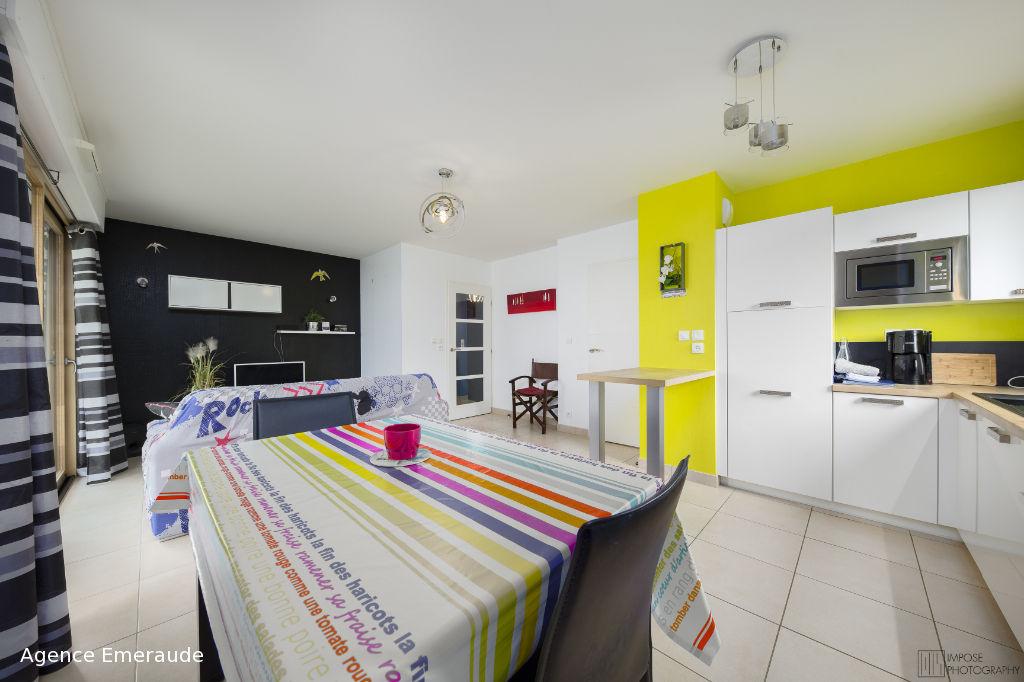 Appartement meublé Dinard 2 pièce(s) 47,65 m2
