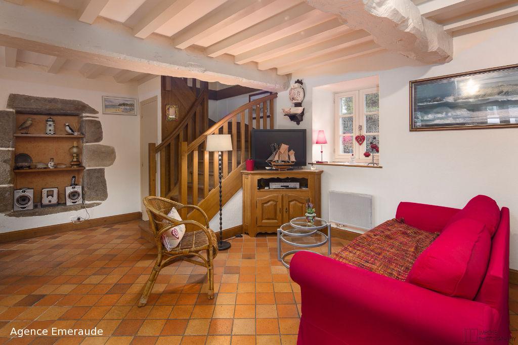 A vendre Maison Pleurtuit 2 chambres dépendance 302 m² de terrain