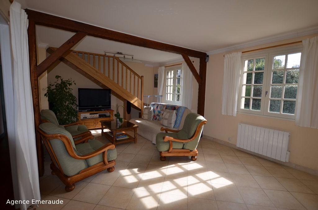 Maison Pleurtuit 140 m2 bord de rance 6 chambres, 2 chambres au rez-de-chaussée