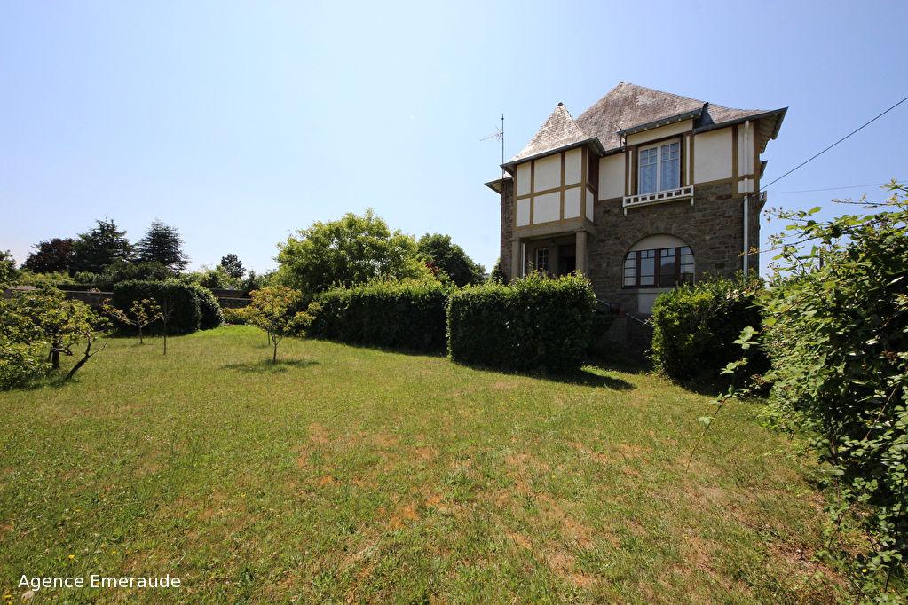 Maison Dinard 4 pièces 102 m², beau terrain constructible et divisible