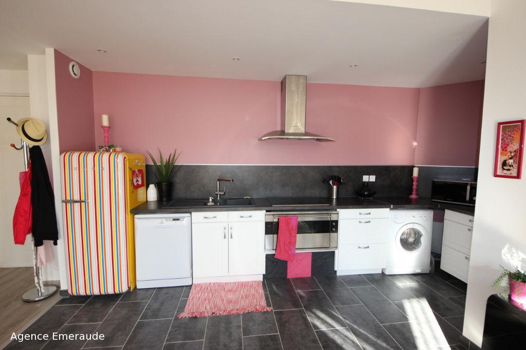 DINARD appartement de type 3 pièce(s) à louer meublé de sept à Juin