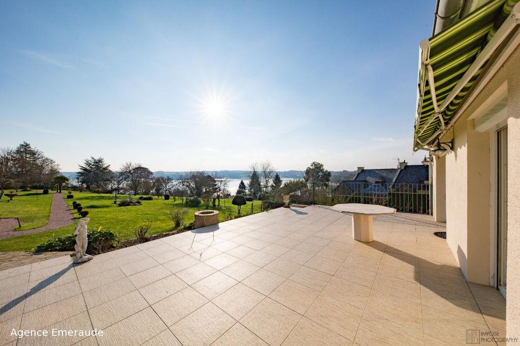 Maison Le Minihic Sur Rance VUE SUR RANCE 4 chambres 3000 m² de terrain donnant accès direct à la rance