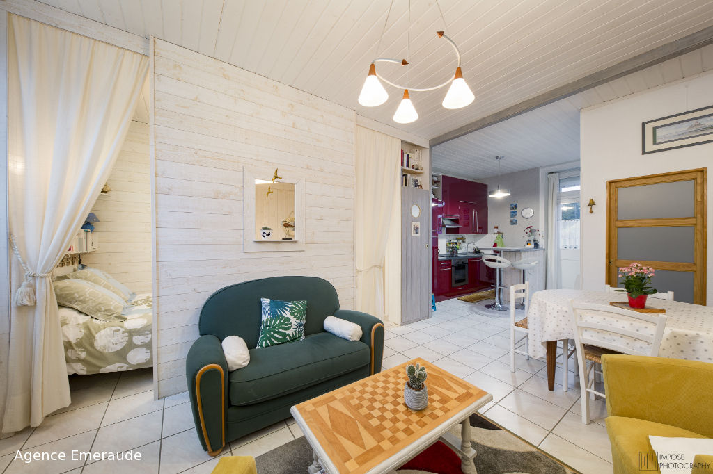 Appartement Dinard hyper centre 1 pièce(s) 34,26 m2 cave