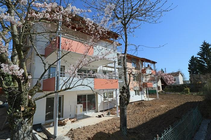 Appartement  neuf  PERONNAS 84m²  avec belle terrasse
