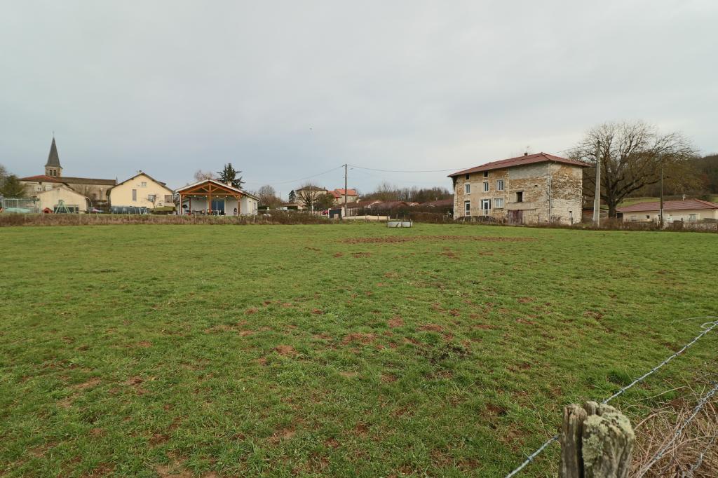 Terrain Meyriat 1491 m2