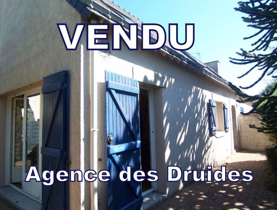 CARNAC 1.5 KM VILLE  Maison 3 - 4 pièces AVEC JARDIN - 56340 .