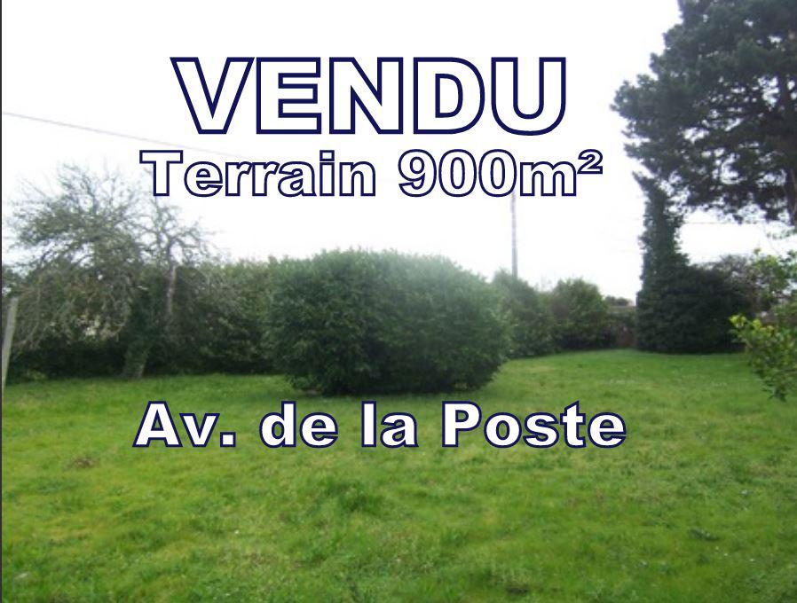 Beau Terrain constructible 900 m² (CES 40 %) centre ville CARNAC - 56340