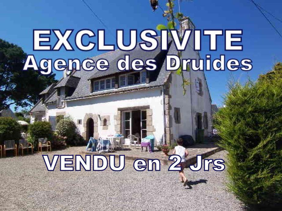 CARNAC TY BIHAN A VENDRE Maison de charme  5 pièces 3 chambres  possibilité 4 - 93 m²