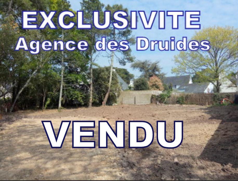 VENDU 56340 CARNAC PLAGE Terrain à bâtir  construction habitation maison 110 m²