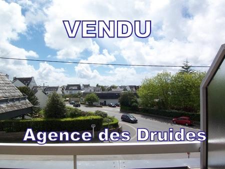 A VENDRE A ACHETER , CARNAC VILLE, 2 pieces duplex balcon parking - 56340