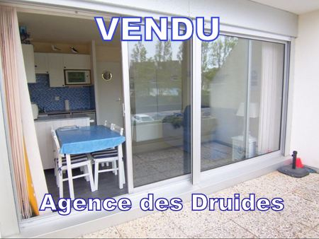 Achat Vente Studio coin repos terrasse sud CARNAC 56340
