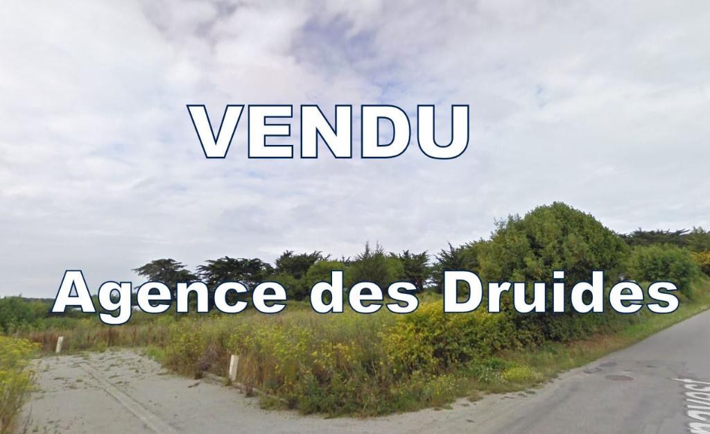 A VENDRE QUIBERON 56170 Terrain  A BATIR DE   489 m2 - HABITATION POSSIBLE DE 220M²