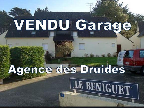 Garage en sous-sol - Carnac Plage (56340)