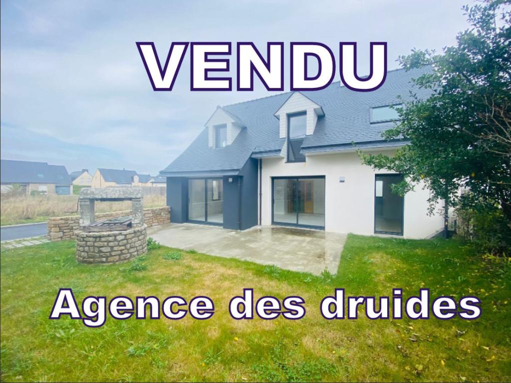 Achat vente CARNAC VILLE maison 4 CHAMBRES 115 m² sur 276m² de terrain Ouest -  56340 carnac