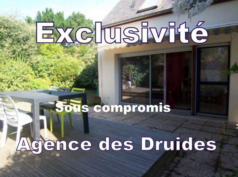 A VENDRE CARNAC PLAGE  Maison  3 pièces - 2 chambres-plus, 70 m² habitables environ.