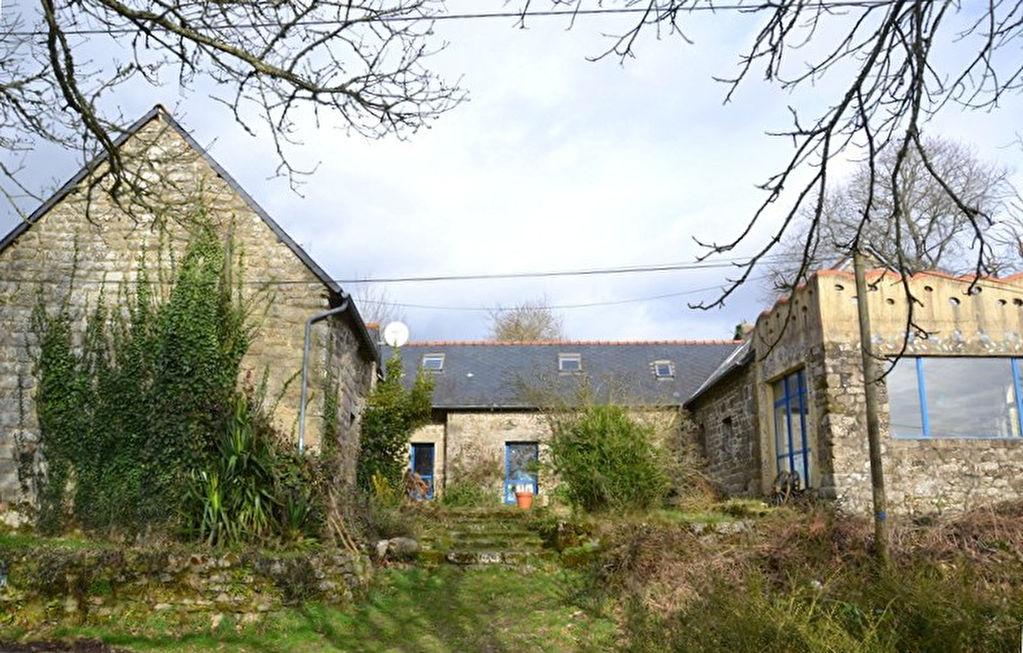 Région Mellionnec - Propriété en pierre - 4 Chambres sur 1,54 hectares de terrain