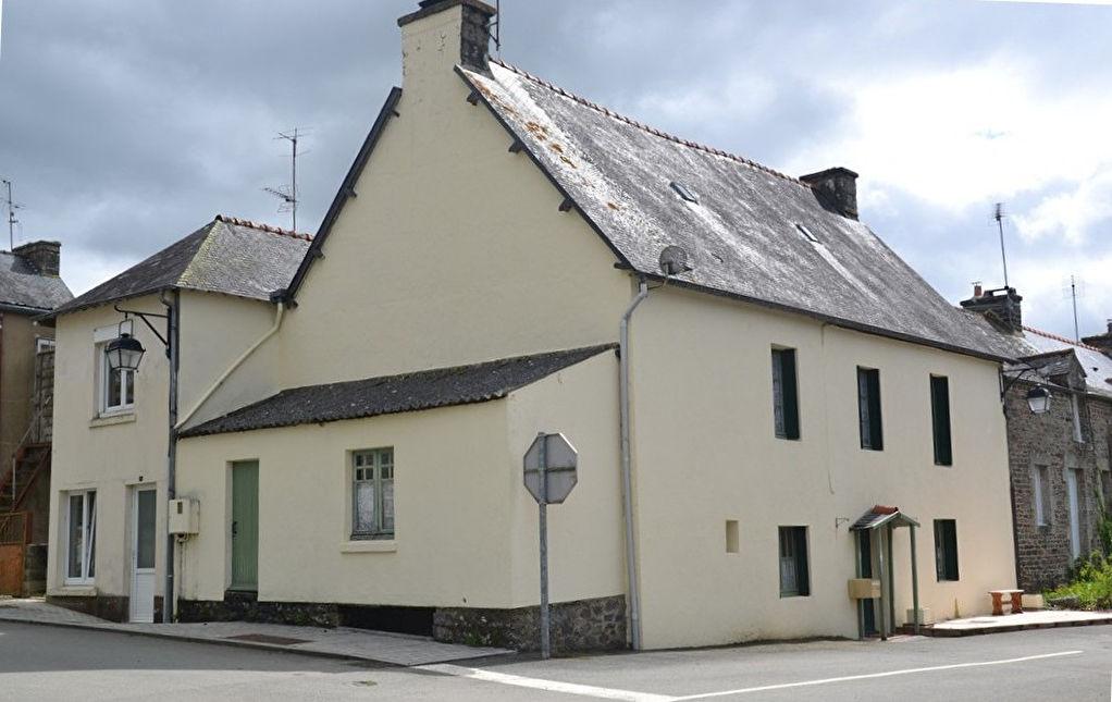 Région Gouarec - Ensemble de deux maisons de bourg