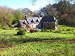 Brehec, proche mer, belle propriété en pierre 1.75 hectare , 260 m² habitable  A VENDRE