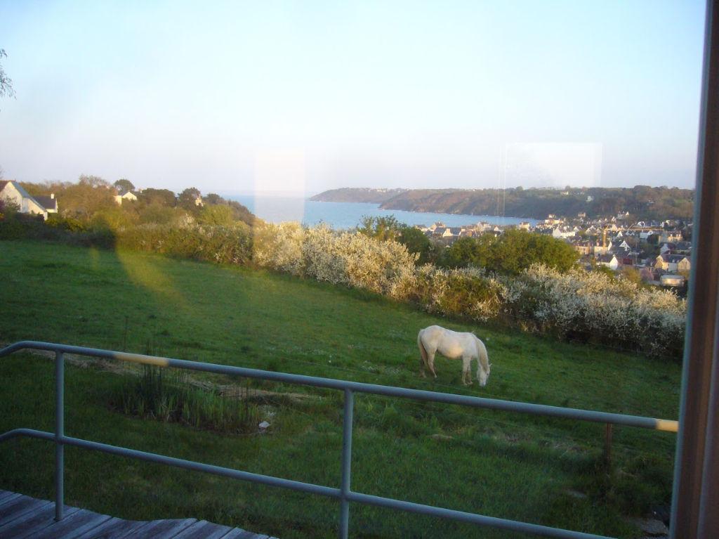 Binic, maison à vendre, belle vue mer surplombant Binic