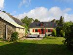 Région Plounévez-Quintin - maison en pierre 2 chambres avec dépendances sur parcelle de 3548 m²