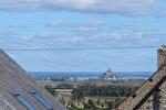 Proposer cette annonce : Vue du Mont St Michel: Maison 2 chambres + dépendances pour gites