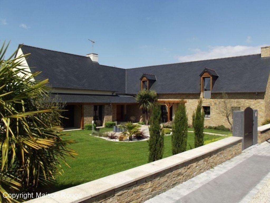 A vendre maison dol de bretagne 316 m 524 000 for Agence maison rouge