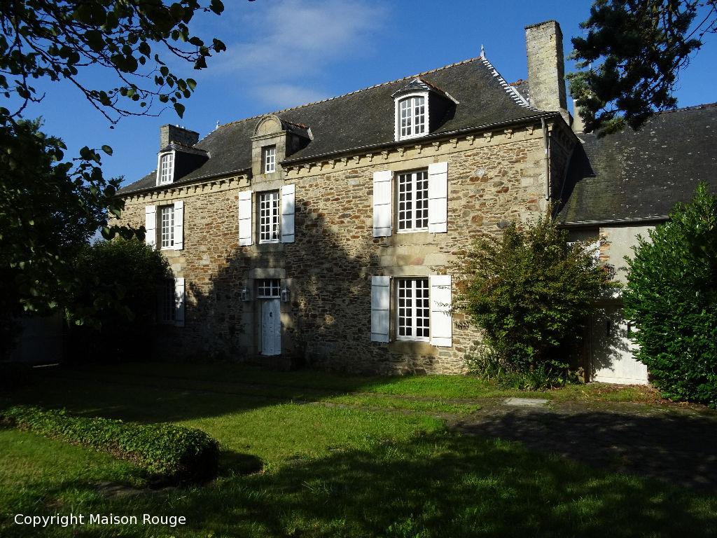 Axe rennes/St Brieuc authentique manoir 11 pièce(s) 320 m2