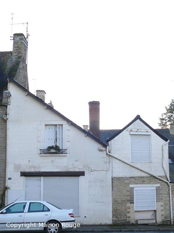 Evran : maison de bourg de 3 chambres