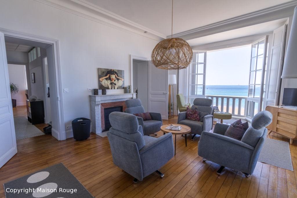 DINARD - Appartement  avec  Accès direct à la plage Vue exceptionnelle sur la mer
