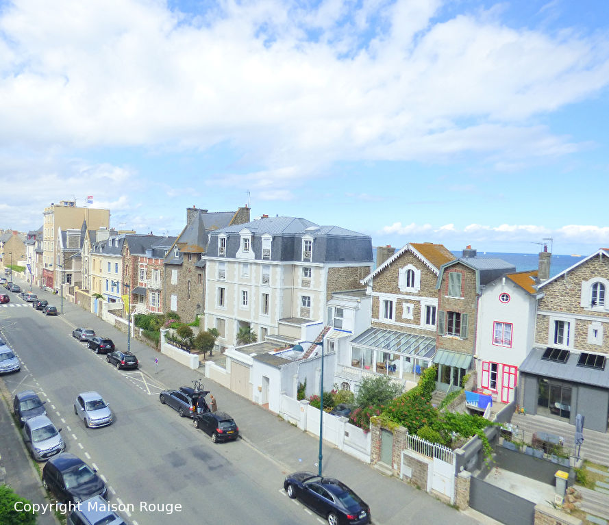 Exclusivité Appartement Saint Malo 3 pièces 87m²  vue mer