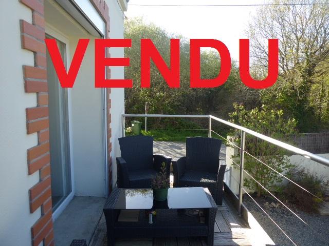 Morbihan Sud 56550 Maison Locoal-mendon 3 pièce(s) 2 chambres terrain clos de 140m²