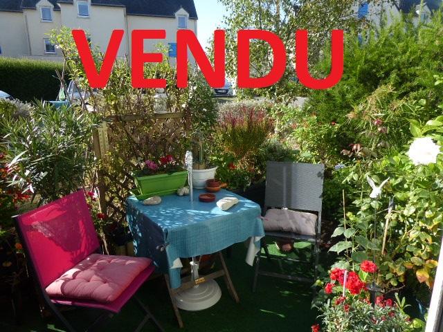 Exclusivité Appartement Belz  56550 3 pièces 60.55 m2 centre au rez-de-chaussée avec terrasse exposée sud