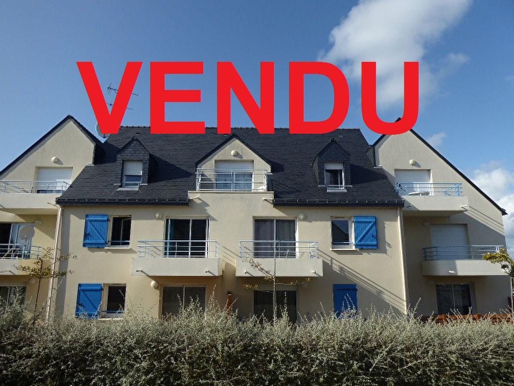 56550 Belz Appartement  2 pièces 39.18m² situé entre le centre et la ria 1 chambre balcon exposé sud