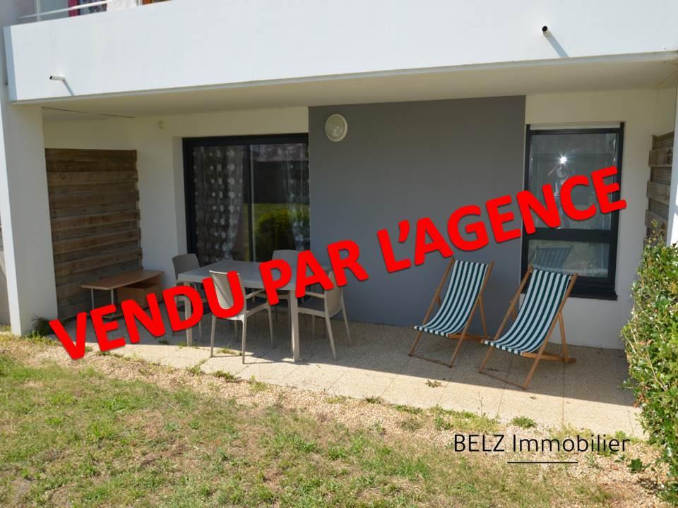 56410 Appartement Etel 2 pièces 43 m² en rez de jardin  EN TRES BON ETAT terrasse 1 CHAMBRE 2 PLACE DE PARKING