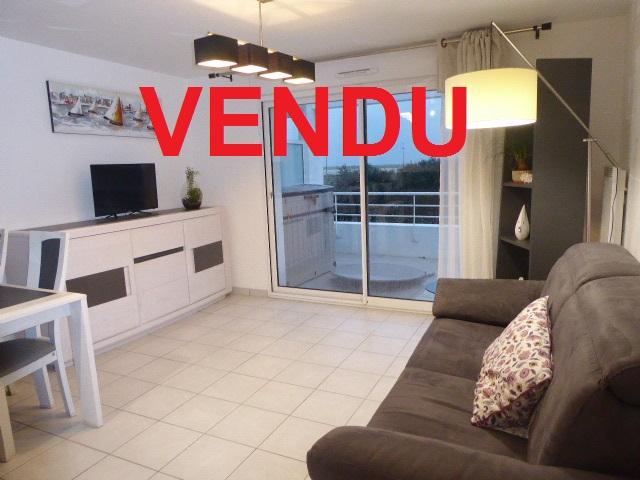 Appartement Etel 2 pièce(s) 44 .62m² 56410 TRES BELLE VUE sur les plages et la Ria d'ETEL