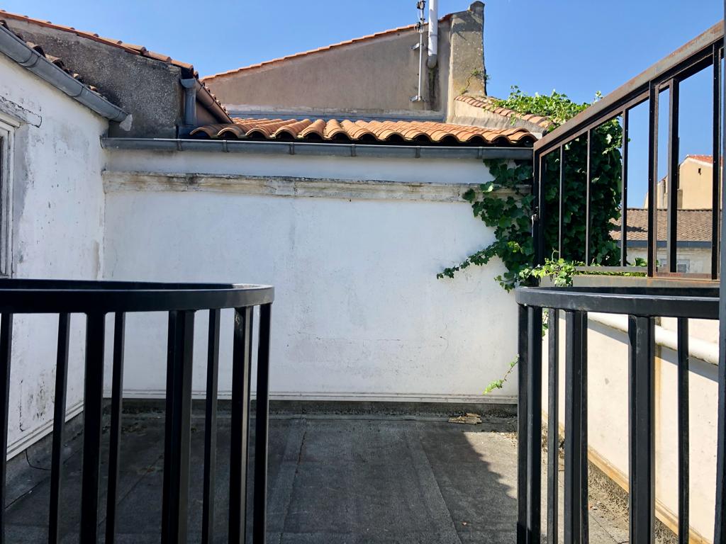 Appartement/ l / Terrasse Centre Ville à réhabilité