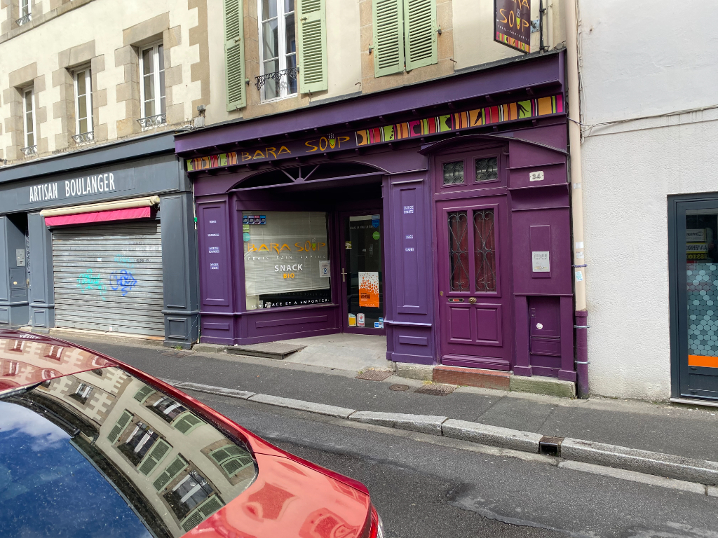 A VENDRE FONDS DE COMMERCE RESTAURATION QUIMPER CENTRE
