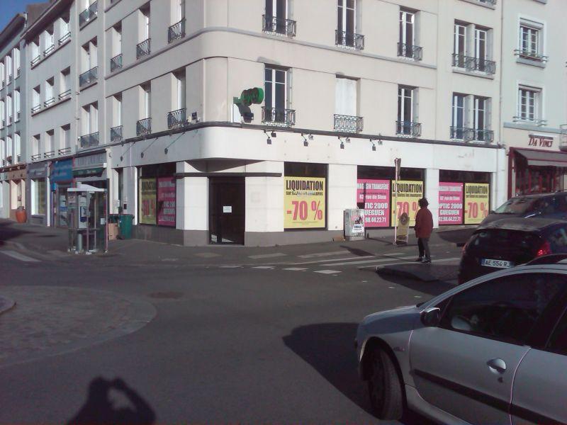Local commercial Brest proximité Halles 84 m2