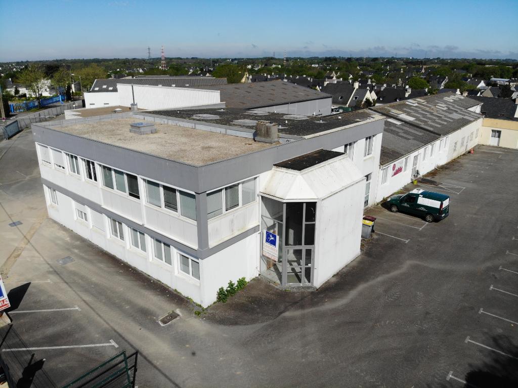 A vendre bureaux BREST  1400m2  vente bureau Brest - Bureaux à vendre Brest - à vendre  Finistère immobilier entreprise Bretagne local commercial 29