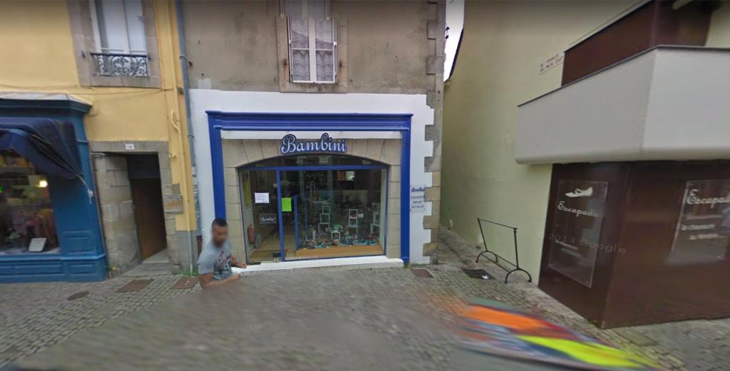 A louer local commercial d'environ 75 m² au centre ville historique de Quimper 29000