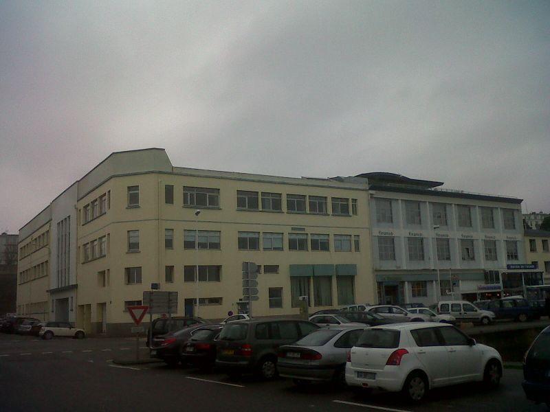 Bureaux Brest port de commerce 175m² Location