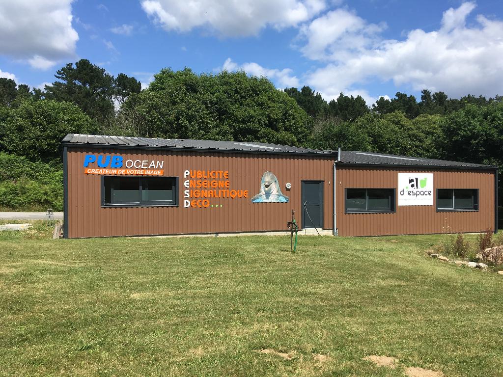A louer local d'activité de 100 m² route de Concarneau 29170 Saint Evarzec