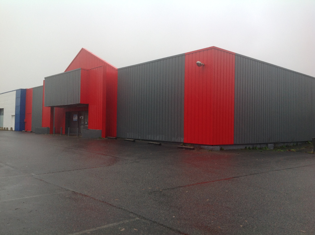 Local commercial Concarneau 880 m2