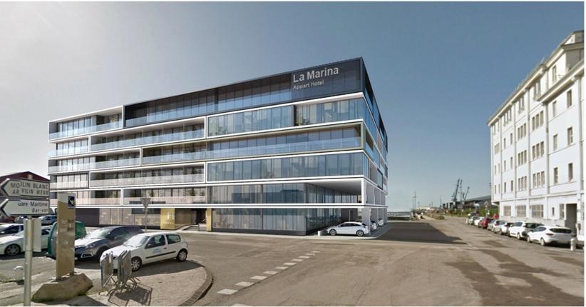 A vendre bureaux  vue mer Brest 600 m2 port du Château