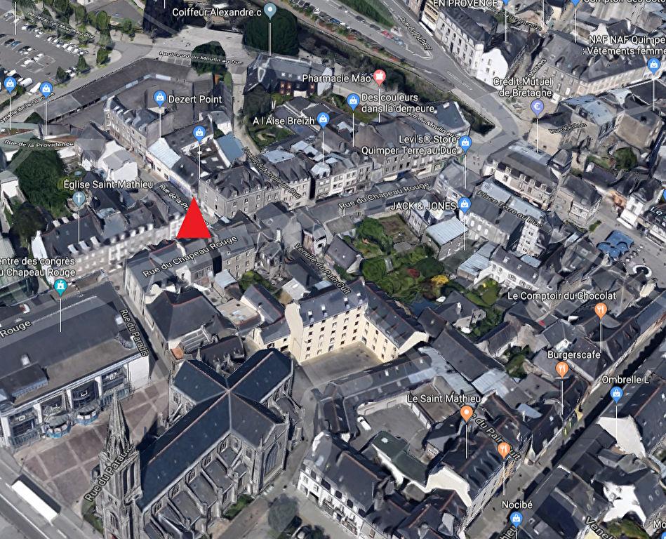 À VENDRE une surface d'habitation de 60 m² CENTRE VILLE 29000 Quimper