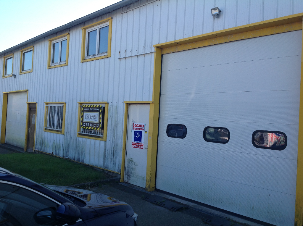 Brest Kergonan 421m²+ Location Entrepôt / Local industriel