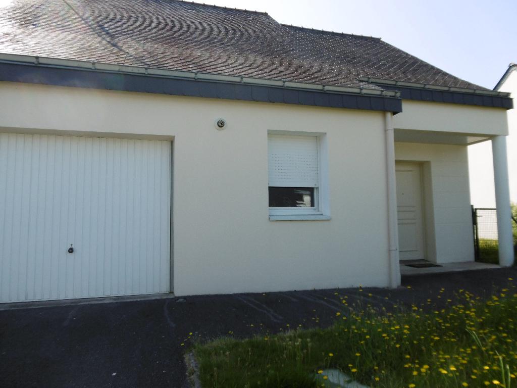 A Louer Pontivy Bretagne Morbihan maison plain pied, récente 69 m² 2 Chambres