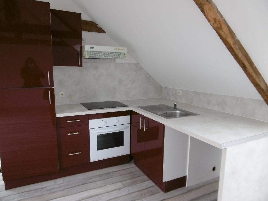 A louer Guemene sur Scorff Bretagne Morbihan Appartement T2 Loft surface 35 m²