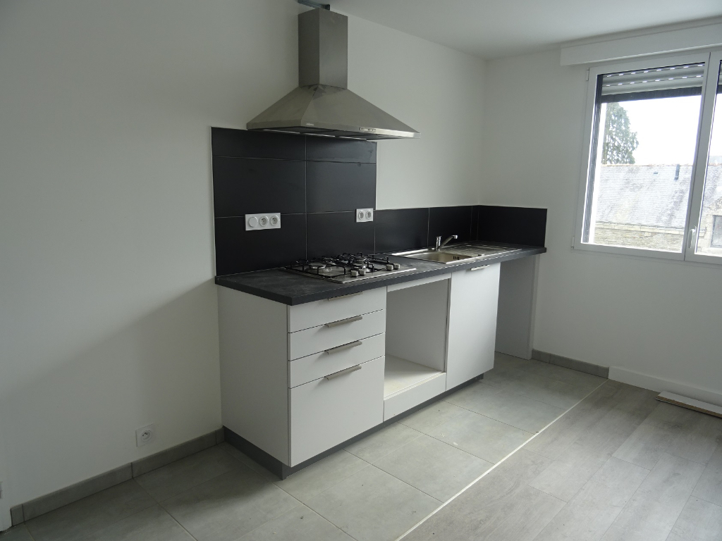 A louer Bretagne Morbihan Pluméliau Appartement de type 3 Bis neuf
